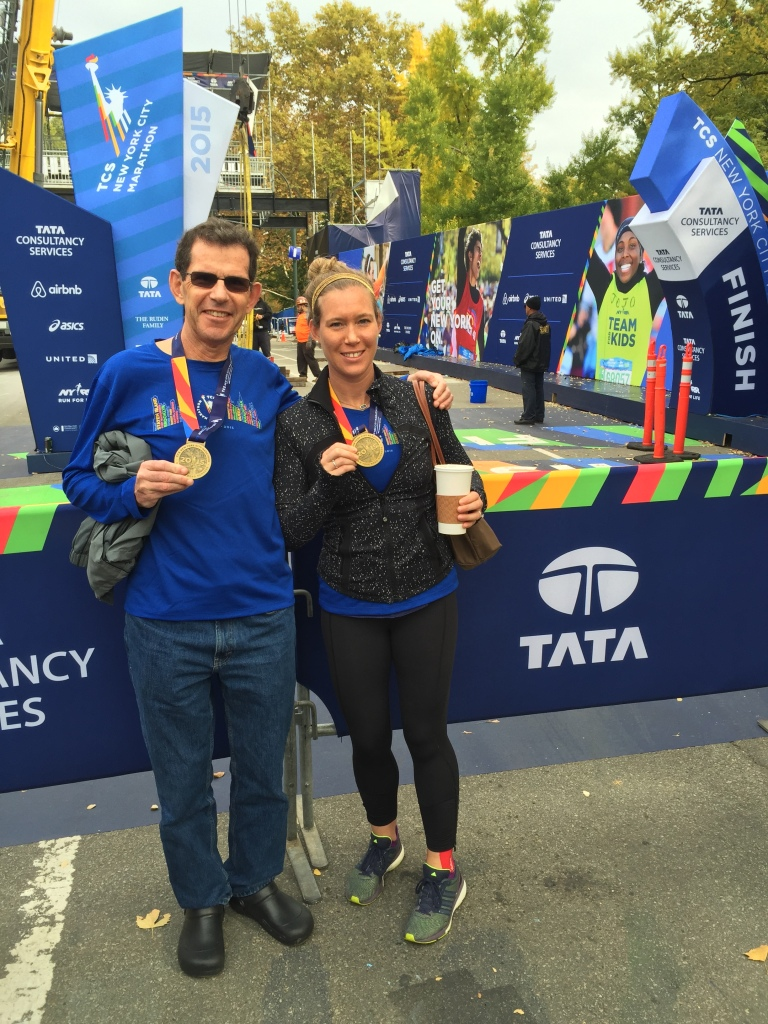 NYC Marathon Finishers!
